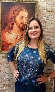 Bata 3/4 Medalha de São Bento - Coleção Pedraria