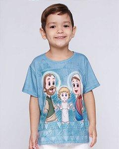 Blusa Unissex Infantil Sagrada Família
