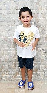 Camisa Fé - Infantil Menino