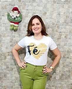 T-shirt Fé - Feminina Adulto