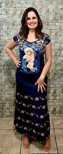Vestido Longo Mãe Rainha