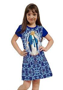 Vestido Nossa Senhora das Graças Infantil