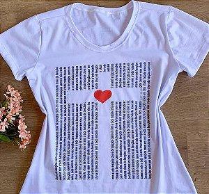T-shirt Chuva de Bençãos caem em mim