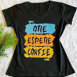T-shirt Creia no Pai