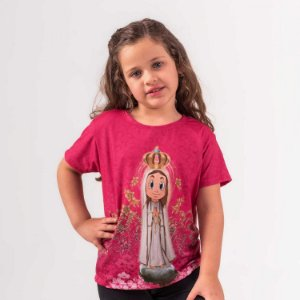 Camiseta Infantil Fatiminha