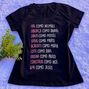 T-shirt Ame como Jesus