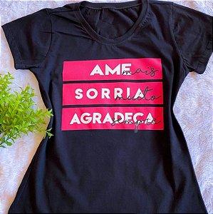 T-shirt Agradeça Sempre