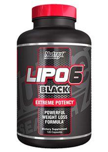 LIPO 6 BLACK - NUTREX 60 caps