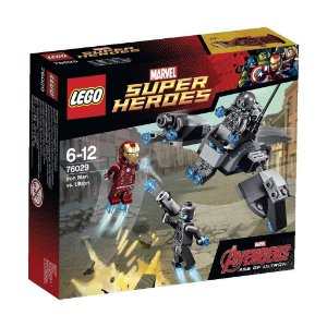 Lego 76029 Super Heroes - Iron Man Vs Ultron 92 Peças