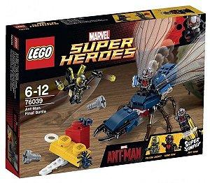 Lego 76039 Super Heroes - O Combate Final do Homem Formiga 183 Peças