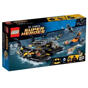 Lego 76034 A Perseguição De Batbarco No Porto - Super Heroes
