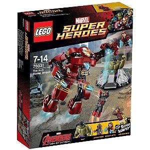 Lego 76031 Marvel Avengers Combate De Hulk Buster 248 Peças