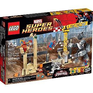 Lego 76037 Super Heroes Rhino E O Super Vilão Sandman