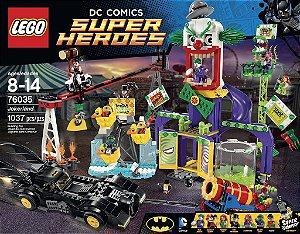 Lego 76035 Jokerland - Terra Do Coringa - 1037 Peças