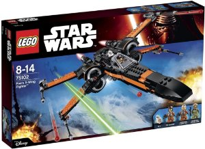 Lego 75102- Star Wars X-wing Fighter Poe Dameron -717 Peças
