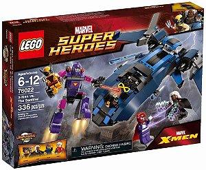 Lego 76022 Super Heroes X-men Versus Sentinela Marvel