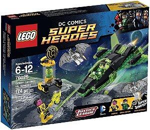 Lego 76025 Lanterna Verde Contra O Sinestro 174 Peças