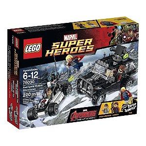 76030 - Lego Ajuste De Contas Dos Vingadores E Hydra
