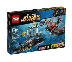 Lego 76027 Super Heroes Batman DC O Ataque Do Fundo Do Mar