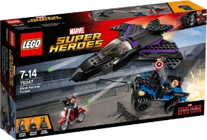 Lego 76047 Super Heroes Marvel Black Panther Guerra Civil