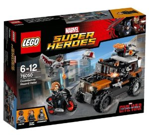 Lego 76050 Super Heroes Guerra Civil Assalto do Ossos Cruzados
