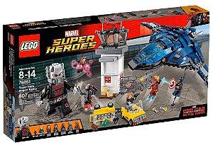 Lego 76051 Super Heroes Marvel Guerra Civil Batalha no Aeroporto