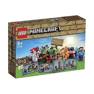 Lego Minecraft 21116 Creative Adventure 518 Peças
