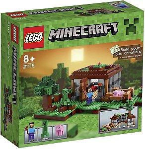 Lego 21115 Minecraft A Primeira Noite - 408pcs