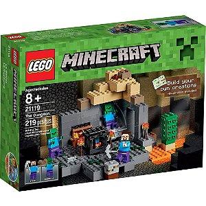 Lego Minecraft 21119 A Masmorra - 219 Peças
