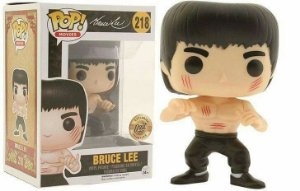 Funko Pop Bruce Lee Exclusivo Luta