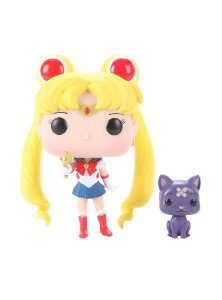 Funko Pop Sailor Moon e Stick Luna Exclusivo Hot Topic