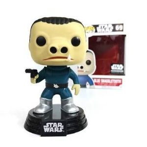 Funko Pop Exclusive Chase Star Wars Blue Snaggletooth