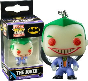 Funko Pocket Chaveiro Exclusivo Joker Glow In The Dark