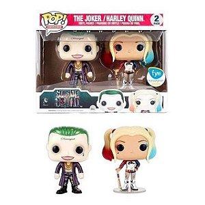 Funko Pop Pack The Joker & Harley Quinn Exclusive Metallic
