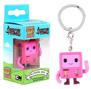 Funko Pocket Chaveiro BMO Blushing Exclusivo Hot Topic
