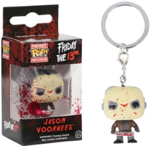 Funko Pocket Chaveiro Jason Blood Exclusivo Hot Topic