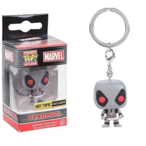 Funko Pocket Chaveiro Deadpool Grey Exclusive Hot Topic