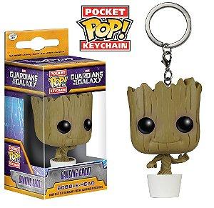 Funko Pocket Chaveiro Dancing Groot Marvel