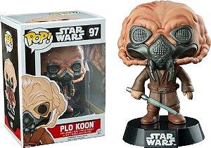 Funko Pop Star Wars Plo Koon Exclusivo
