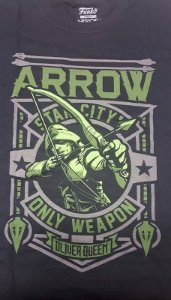 Camiseta Funko Exclusiva Box DC Arrow