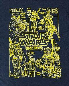 Camiseta Funko Exclusiva Box Star Wars Mercenários