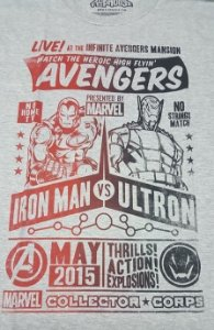 Camiseta Funko Linha Marvel Exclusiva Avangers Iron Man