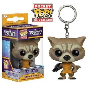 Funko Pocket Chaveiro Marvel Rocket Raccoon
