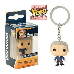 Funko Pocket Chaveiro Doctor Who Twelfth Doctor