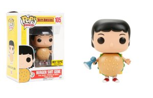 Funko Pop Burger Suit Gene Exclusive Hot Topic