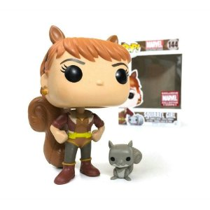 Funko Pop Squirrel Girl Exclusiva Marvel Box Garota Esquilo