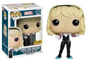 Funko Pop Spider Gwen Unhooded Exclusiva Hot Topic
