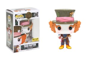 Funko Pop Disney Mad Hatter Chapeleiro Maluco Alice
