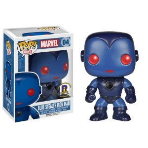 Funko Pop Blue Stealth Iron Man Exclusivo