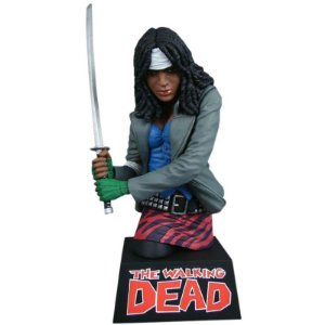 Michonne Bust Bank - The Walking Dead - Diamond